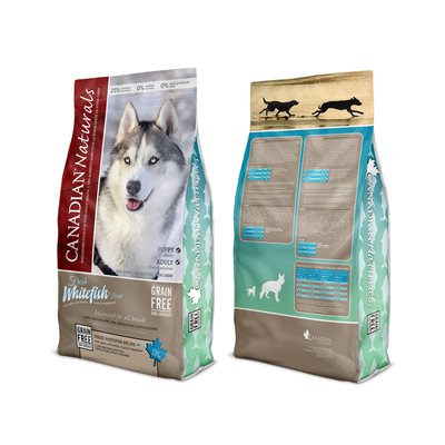 Canadian Naturals Value Series Dog Grain Free Fresh Whitefish 11LB