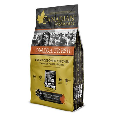 Canadian Naturals Omega Fresh Dog Deboned Chicken 4.4LB