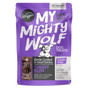 Waggers My Mighty Wolf Turkey 150g