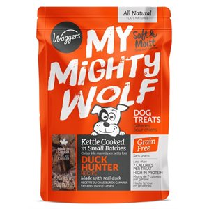 Waggers My Mighty Wolf Duck 150g