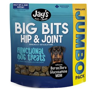 Waggers Jay's Big Bits Functional Treats 908g