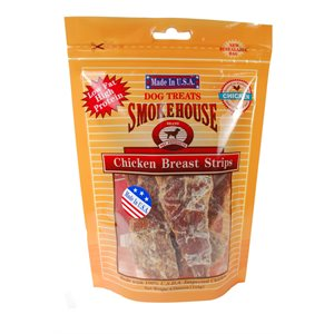 SmokeHouse USA Ckn Strips 4oz Reseal Bag