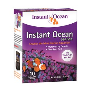 Instant Ocean Sea Salt 10 Gallons