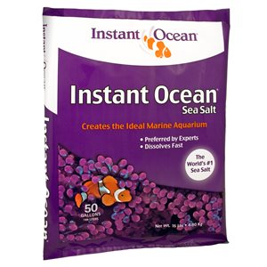 Instant Ocean Sea Salt 50 Gallons