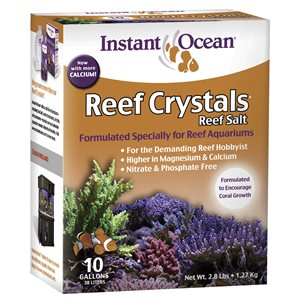 Instant Ocean Reef Crystals Salt 10 Gallons