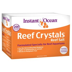Instant Ocean Reef Crystals Salt 200 Gallons