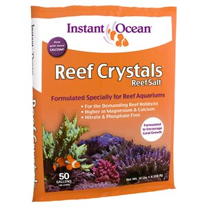 Instant Ocean Reef Crystals Salt 50 Gallons