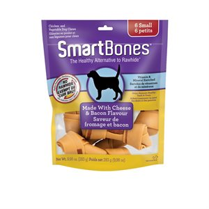 Spectrum SmartBones Bacon & Cheese Small 6 Pack
