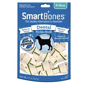 Spectrum Smart Bones Dental Mini 8 Pack