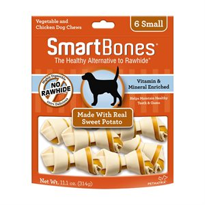 Spectrum Smart Bones Sweet Potato Small 6 Pack