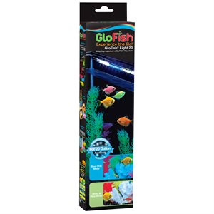 "Spectrum GloFish Light 20 Gallon 2 x 10"" White & Blue LED Sticks"