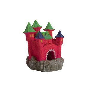 Spectrum GloFish Ornament Color-Changing Castle Large