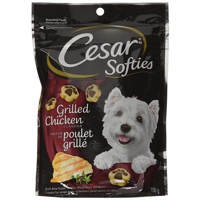Cesar Dog Treats Softies Grilled Chicken 150g