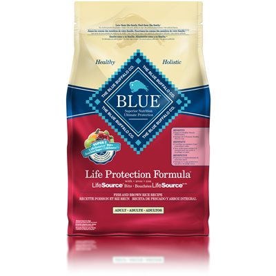 Blue life protection adult fish brown rice recipe 2 5kg for Blue buffalo fish and brown rice