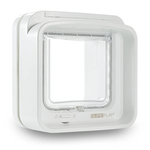 SureFlap Dual Scan Microchip Cat Flap White