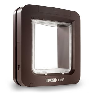 SureFlap Microchip Pet Door Brown
