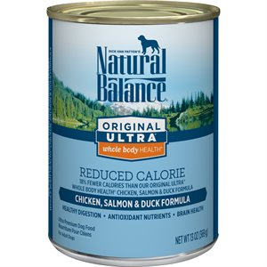 Natural Balance Dog Original Reduced Calorie Formula Cans 12 / 13oz
