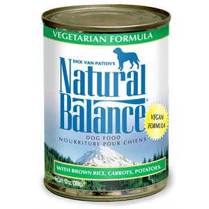 Natural Balance Dog Premium Vegetarian Formula Cans 12 / 13oz