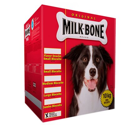Smuckers Milk Bone Flavour Snacks Small Biscuits 10KG