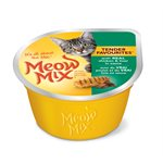 Smuckers Meow Mix Tender Favourites Chicken & Liver Wet Cat Food 24 / 78g