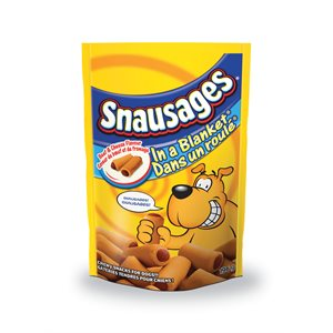 Smuckers Snausages Beef & Cheese in a Blanket Treats 6 / 196g