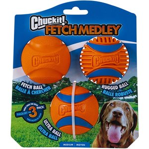 Chuck IT! Fetch Medley 3rd Generation 3-Pack
