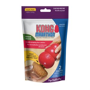 KONG Marathon Dog Treat 2-Pack Chicken Small