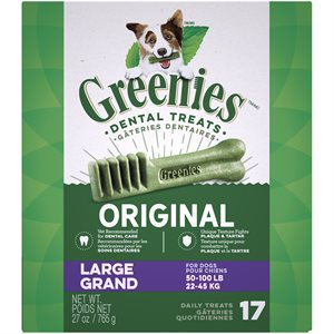 Greenies Canine Original Treat Tub Pak™- Large 27 oz.