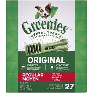 Greenies Canine Original Treat Tub Pak™- Regular 27 oz.