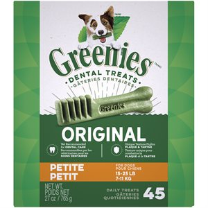 Greenies Canine Original Treat Tub Pak™- Petite 27 oz.
