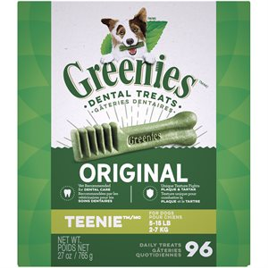 Greenies Canine Original Treat Tub Pak™- Teenie 27 oz.