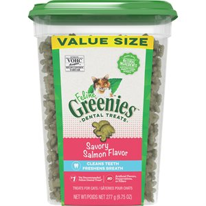 Greenies Feline Salmon Complete Dental Treat 9.75oz