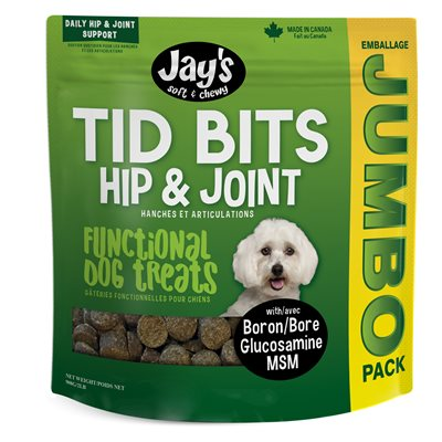 Waggers Jay's Original Tid Bits Functional Treats 908g