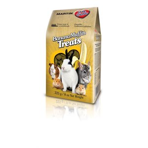 Martin Banana Muffin Small Pet Treat 225g
