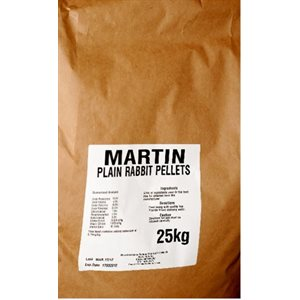 Martin Mills Granulated Rabbit Food Pellets 25kg