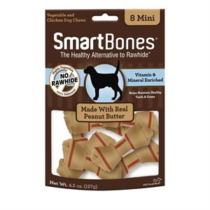 Spectrum Smart Bones Peanut Butter Mini 8 Pack