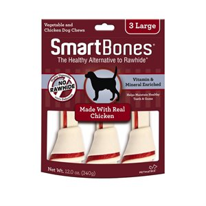 Spectrum Smart Bones Chicken Large 3 Pack