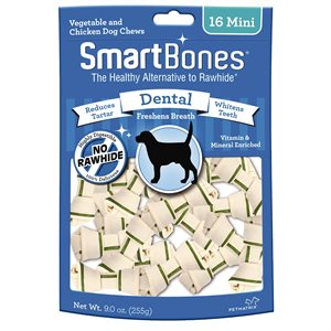 Spectrum Smart Bones Dental Mini 16 Pack