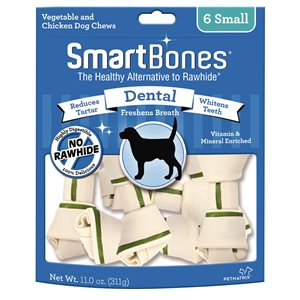 Spectrum Smart Bones Dental Small 6 Pack