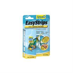 Spectrum Tetra EasyStrips 6-in-1 Test Strips 25PK