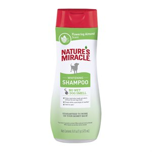 Spectrum Brands Nature's Miracle Odor Control White Coat Shampoo 16oz