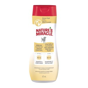 Spectrum Brands Nature's Miracle Odor Control Oatmeal Shampoo 16oz