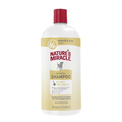 Spectrum Brands Nature's Miracle Odor Control Oatmeal Shampoo 32oz