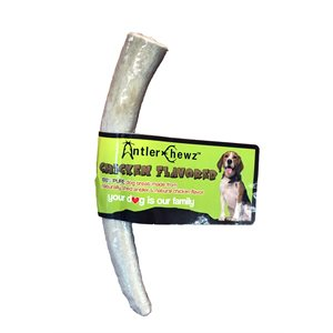 Antler Chewz Cigar Banded Chicken Flavor Antler Chew Extra Large