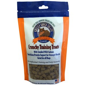 Grizzly Super Treats Smoked Salmon Dog 5oz