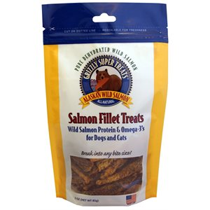 Grizzly Salmon Cat / Dog Fillet Treats 3oz