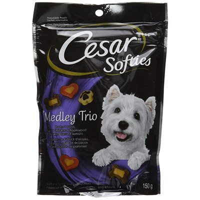 Cesar Dog Treats Softies Medley Trio 150g