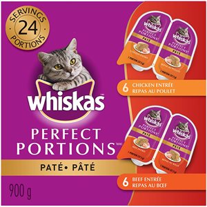 Whiskas Adult Cat Perfect Portions Beef & Chicken Multipack 2x12 / 75g