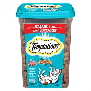 Temptations Cat Treats Tuna Flavour 454g Tub