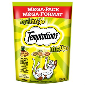 Temptations Cat Treats Mix-Ups Catnip, Chicken & Cheese 180g